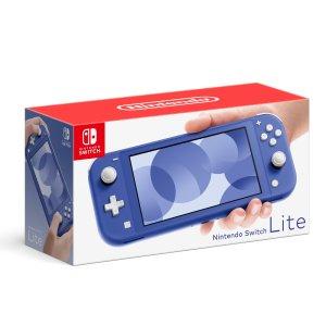 全新蓝色Switch Lite 现可预购