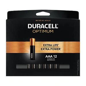 DuracellOptimum AAA Batteries, Pack of 12 Item# 3074345