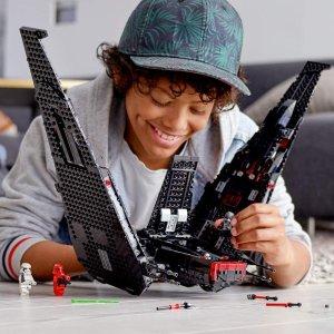 $125.00 (原价$159.99)史低价:Lego 星战系列凯洛伦穿梭机 75256(共1, 005 粒)
