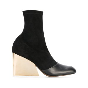 Neous Wedge Heel Boots