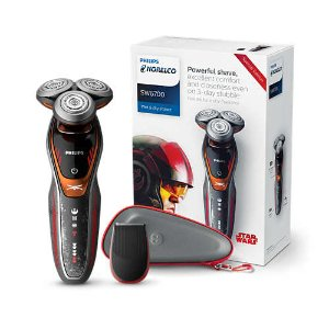 Philips Norelco Star Wars Wet & Dry Electric Shaver with Turbo+ mode & Precision Trimmer