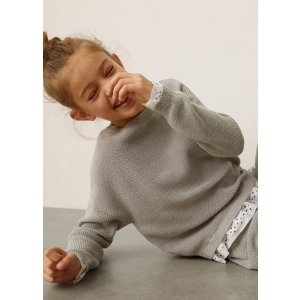 MangoContrasting knit sweater - Teen | Mango Kids USA