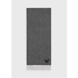 Emporio Armani羊绒围巾