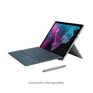 $699.99 (原价$1059)Microsoft Surface Pro 6 + 铂色键盘壳 (i5-8250U, 8GB, 128GB)