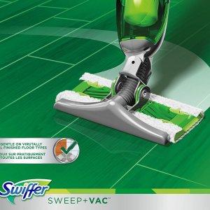 现价$38(原价$42) 包邮史低价:Swiffer 拖地吸尘2合1拖把 充电无线使用 1次解决2步清洁