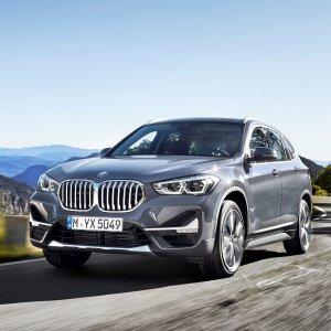 X1 Q3 GLA 你选谁?2020 BMW X1 小型SUV中期改款 设计微更新 向大哥看齐
