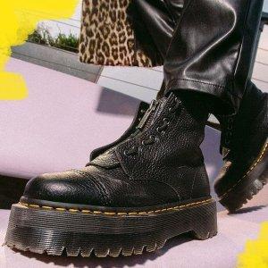 低至6.2折 $100收工装马丁靴Dr. Martens 潮帅马丁靴专场 $104收帆布款马丁靴