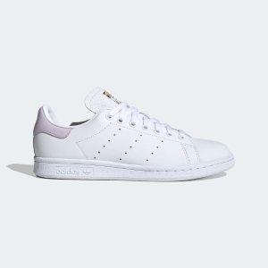 AdidasStan Smith 紫尾小白鞋