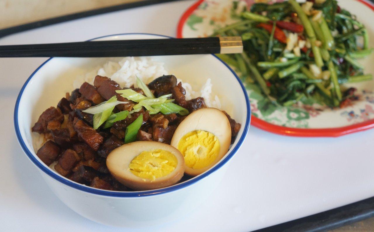 想吃卤肉饭?不用去台湾也能吃到正宗的卤肉饭