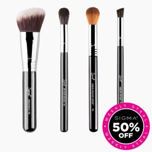 Sigma Beauty Complexion Brush Set Sale
