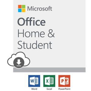 $99.99 终身使用Microsoft Office 套装 家庭/学生 下载版 可安装一部设备