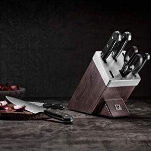 Zwilling 刀具7件套 带自磨刀刀架 4.6折特价