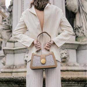 新品7折 €157收爆款腋下包Elleme 法风小众设计师包包 优雅气质不撞包 好看还不贵