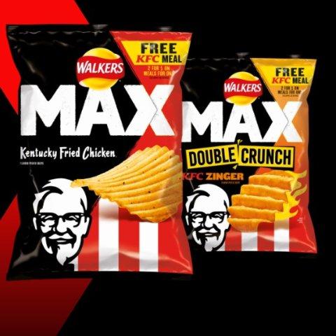 肯德基味薯片来了KFC X Walkers 联名薯片 还能享受肯德基单人套餐买1赠1
