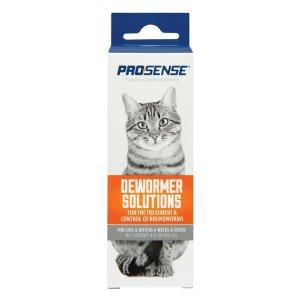 Pro-Sense Liquid Cat Dewormer, 4-oz bottle - Chewy.com