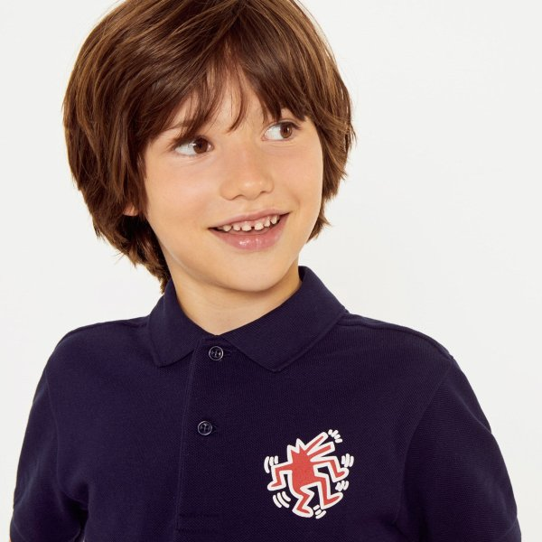 x Keith Haring 儿童Polo衫
