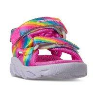 Skechers 女幼童凉鞋