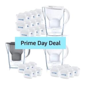 仅今天!12个滤芯+水壶€44Prime Day 狂欢价:Brita 滤芯祛氯去杂质 居家必备 收健康好水