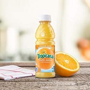 $10.24 每瓶低至$0.4Tropicana 100%橙汁 24瓶装