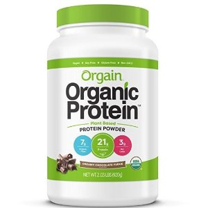 $15.82Orgain Organic Plant Based Protein Powder, Creamy Chocolate Fudge, 2.03 Pound @ Amazon.com