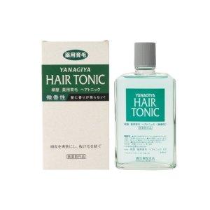 YanagiyaHair Tonic 240ml slight scent