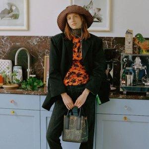 2折起+叠8.5折 £38收印花连衣裙Ganni 全场大促上新 INS最火小裙子闪亮登场 春季新品参与!