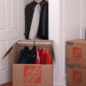 $1.25起 挂好衣服直接搬搬家收纳必备 各规格加厚纸箱热卖 买纸箱还送搬家小工具