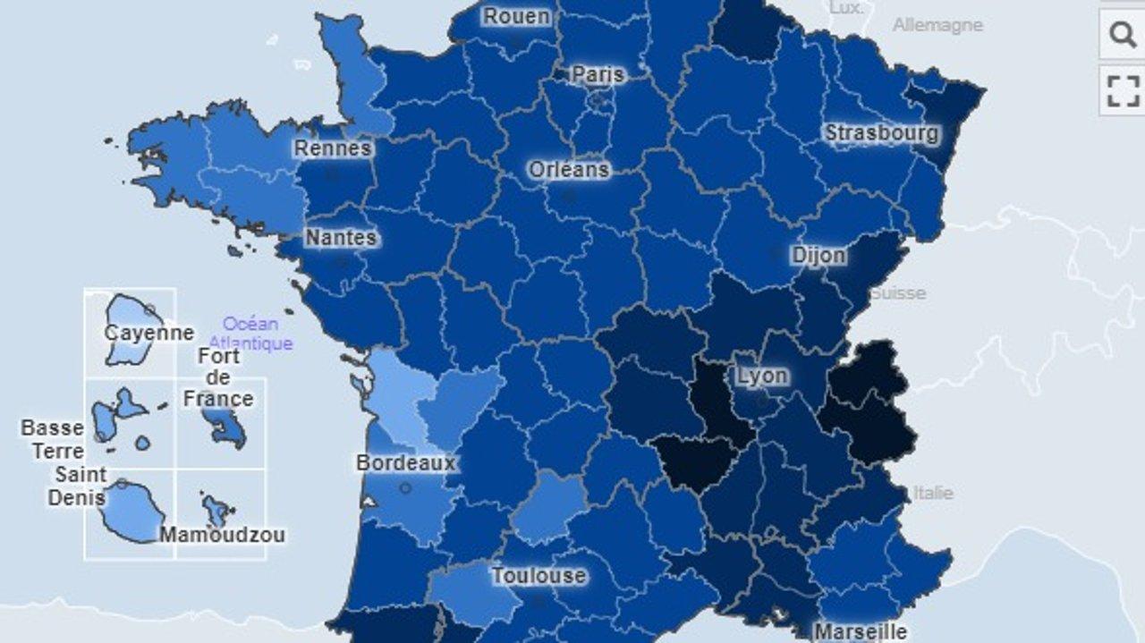 法国新冠肺炎实时动态:11月27日新增确诊12459例,死亡新增396例!