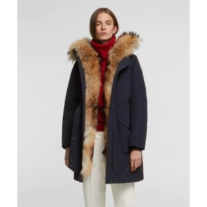 WoolrichMilitary Parka With Raccoon Fur