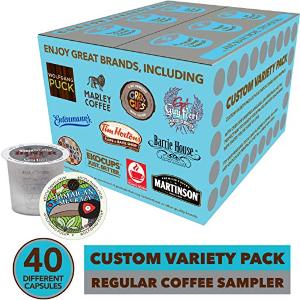 $20.8 一颗只需$0.52Keurig K-Cup 咖啡胶囊 40口味体验装