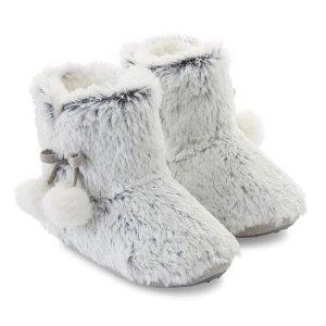 $3.8起多款儿童可爱冬季室内鞋促销