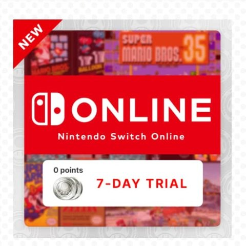 FreeNintendo Switch Online - 7 Day Trial