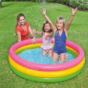 最低$13.3起Intex 家庭充气泳池,后院泳池趴走起