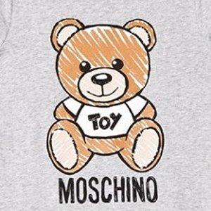 低至5折+回国退税Moschino 新品闪促 收可盐可甜的泰迪熊