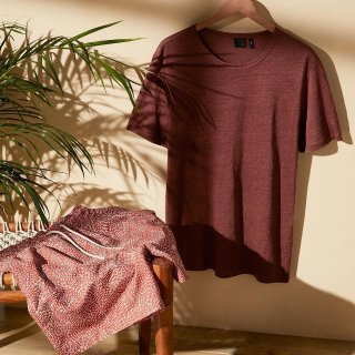 低至$10+ 额外8.5折+免邮H&M 男士打底T恤 短裤 内衣多件套特卖