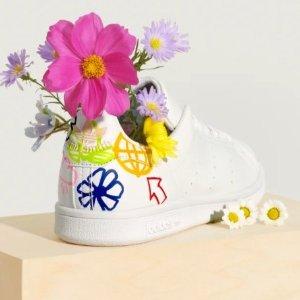 低至5折+额外8折+包邮adidas官网 特价款女生运动服饰、鞋履、配饰等折上折大促