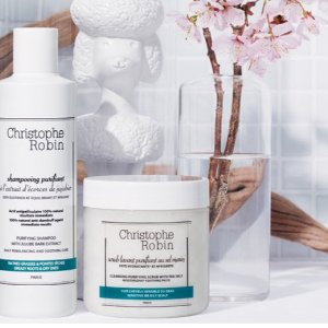 $20 Off $100 Purchasebluemercury Christophe Robin Hair Care Sale