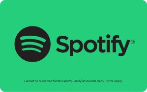 $5Spotify $10 Gift Card