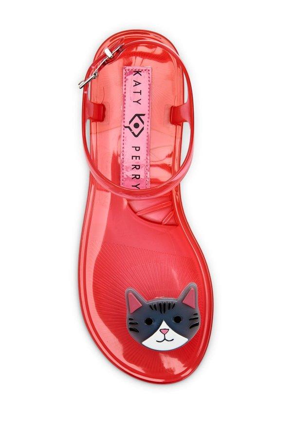 Geli 猫咪果冻鞋