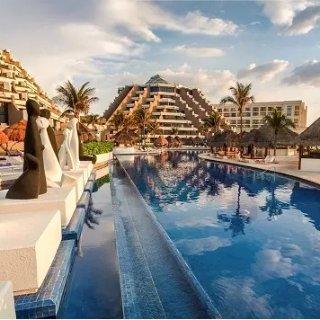 $133/人/晚  含套房+餐饮娱乐等墨西哥坎昆 5星级天堂全包度假村