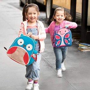 低至$9.99 (原价$15) 美亚4.6高分好评Skip Hop 超可爱儿童午餐包、水杯特卖