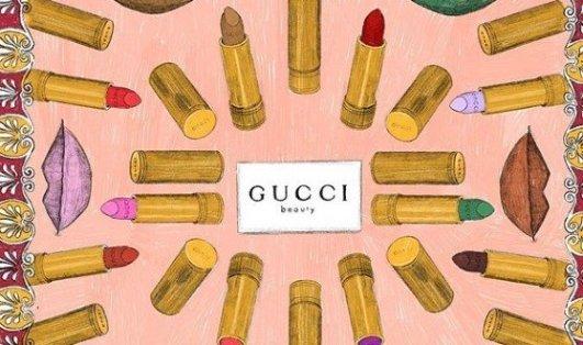 Gucci 春季限定黑管星星唇膏8.5折Gucci 春季限定黑管星星唇膏8.5折