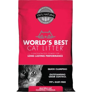 低至8折Chewy 精选World's Best 高级结团猫砂热卖