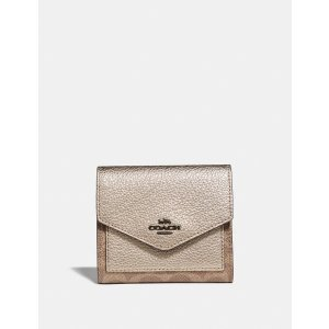 Coach方形小钱包