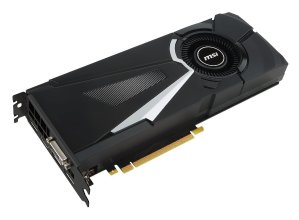 $499.00 免税包邮MSI AERO Gaming GeForce GTX 1080 8GB OC 显卡
