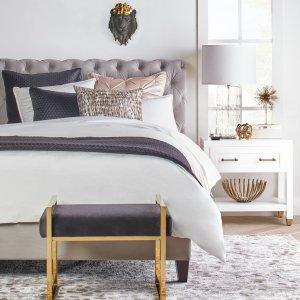 低至7.5折Z Gallerie 精美卧室家饰家具和床品热卖