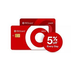 送满100减50优惠券Target 新申请红卡用户