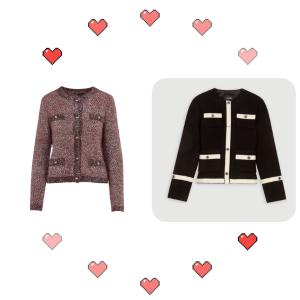 低至2折 £114收封面爆款拉丝开衫Maje 温暖开衫毛衣奥莱区大促 降温最合适的外搭