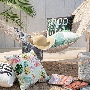 低至2.5折Indigo 精选抱枕、毯子促销热  让生活更休闲更美好