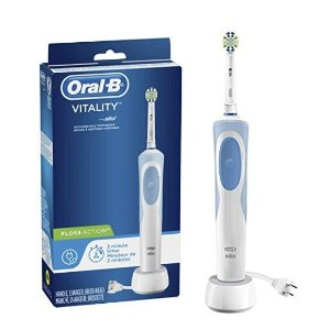 $15.94Oral-B Vitality FlossAction Rechargeable Battery Electric Toothbrush with Automatic Timer